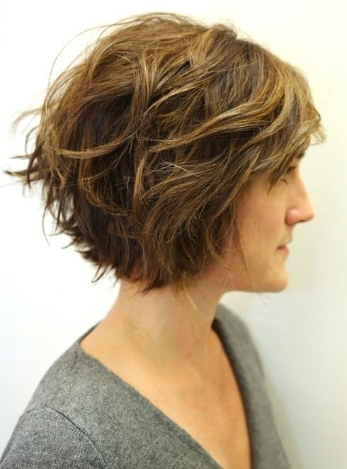 30 fabulous short shag hairstyles Exclusive curls