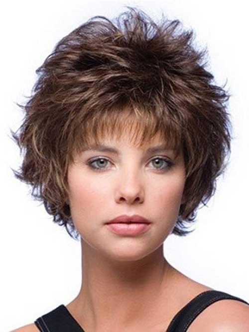 30 fabulous short shag hairstyles Short shag with waves