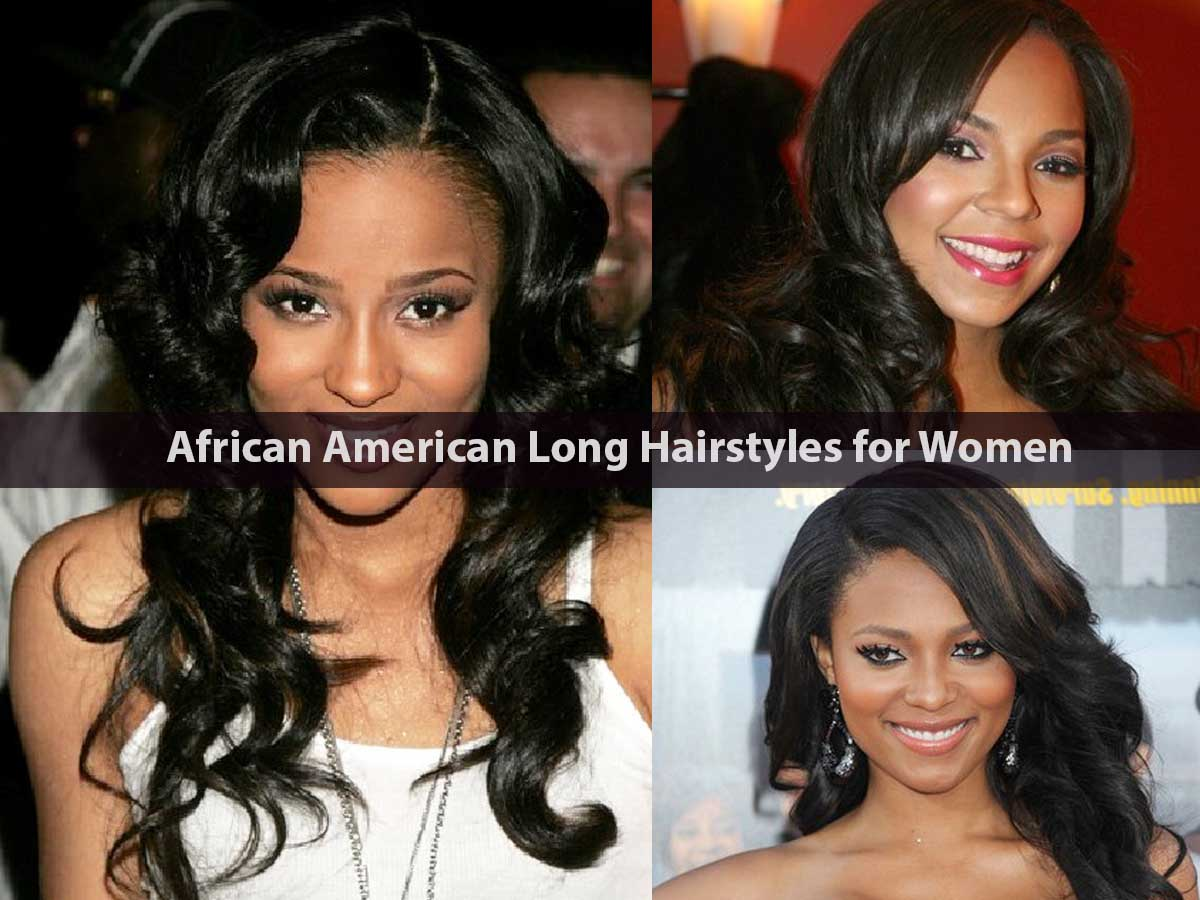 African American Long Hairstyles for Women
