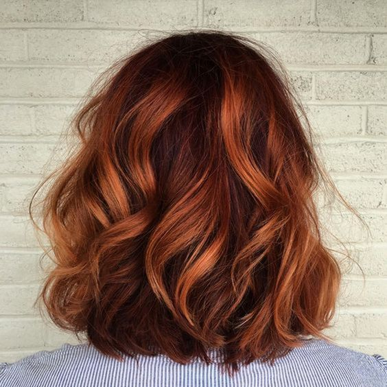 Ombre spiced shade