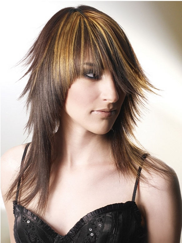 Elegant Long Shag Hairstyles Charming shag