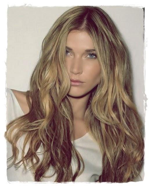 Elegant Long Shag Hairstyles Curls on shag