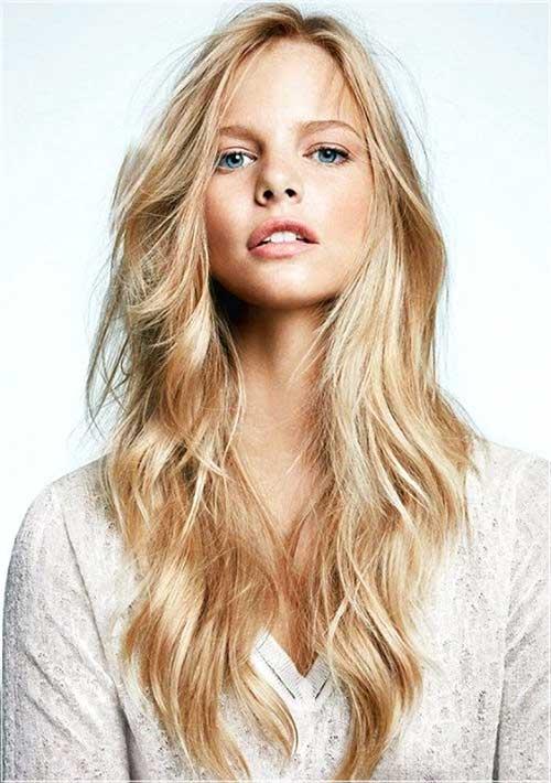 Elegant Long Shag Hairstyles Long shaggy curls