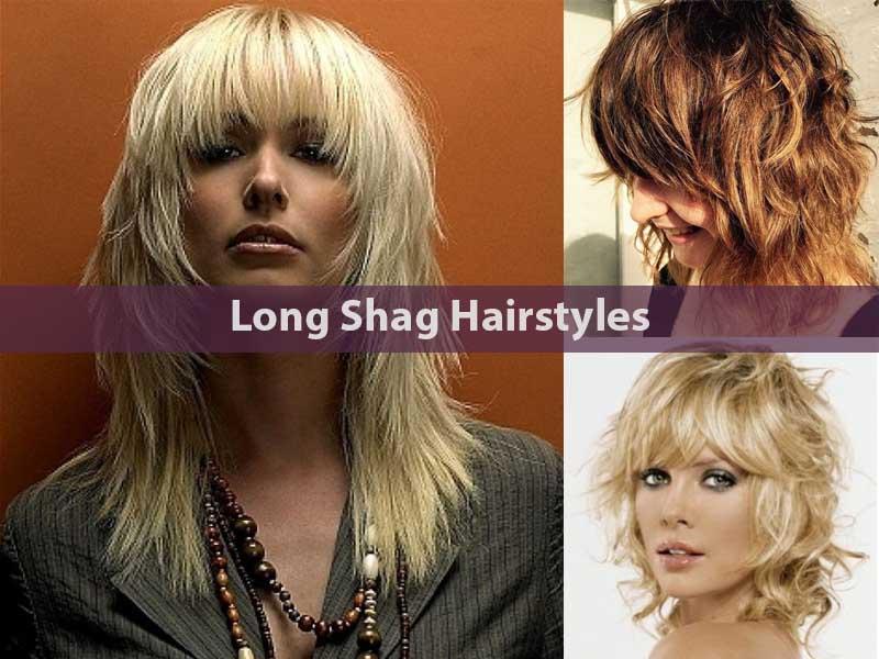 Long Shag Hairstyles