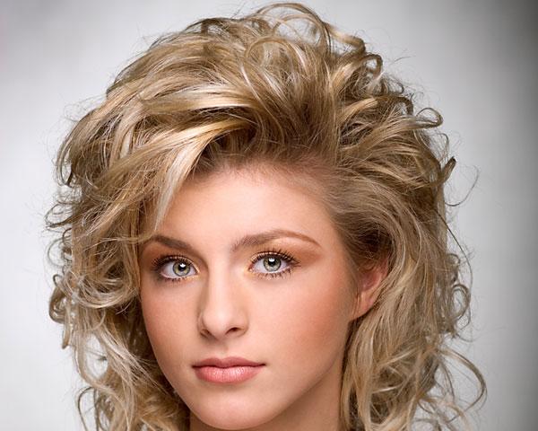 Medium length wavy hairstyles bold beauty