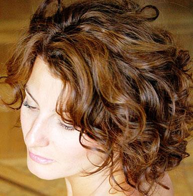 Medium length wavy hairstyles waves with bangs