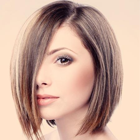 New haircuts for hair stylist Micro fringe bob