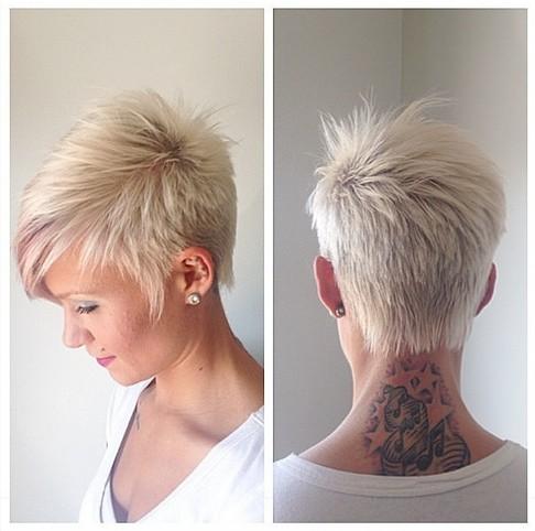 New haircuts for hair stylist Sassy short cut