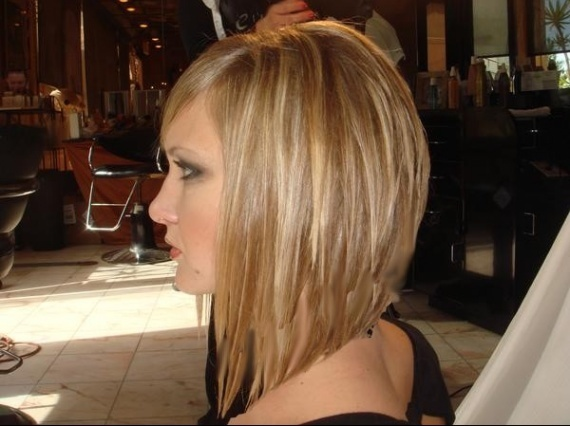 New haircuts for hair stylist Stacked bob medium haircut