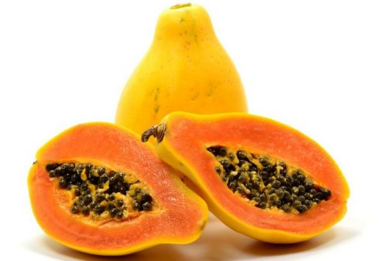 Papaya-home-remedies-for-split-ends