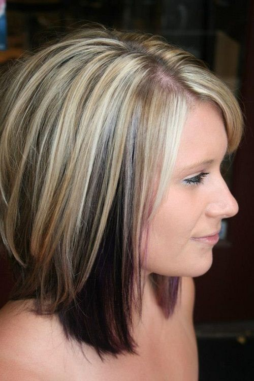 Sassy cut with real blonde shades