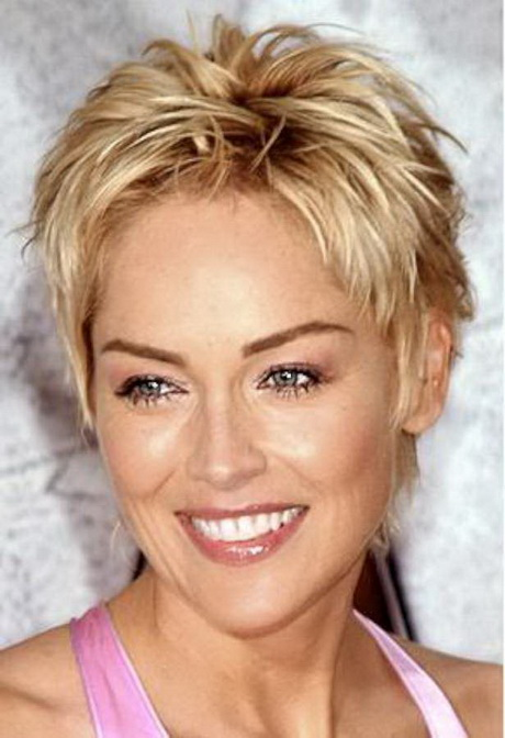 Short Hairstyles for Round Faces Touchable volume