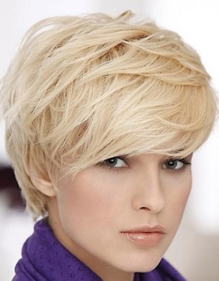 Short layered hairstyles Layered pixie