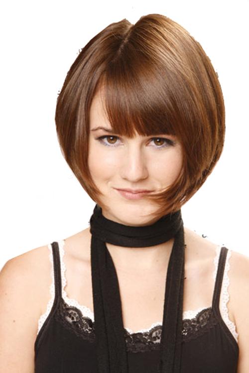 Short layered hairstyles Short and sleek