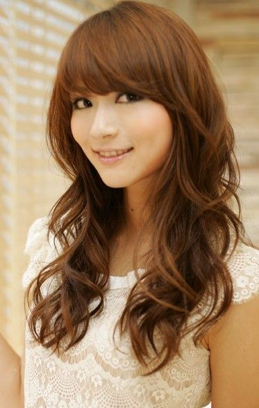 Stunning Haircuts for Long Thick Hair Long A line cut