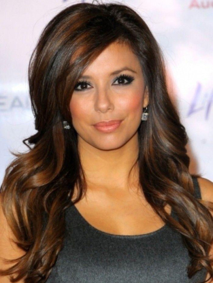 Lowlights on brown hair
