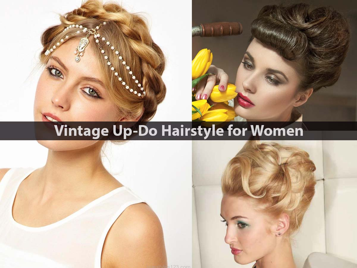 Vintage-Up-Do-Hairstyle-for-Women