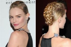 center-parted-braid-till-crown-and-a-bun