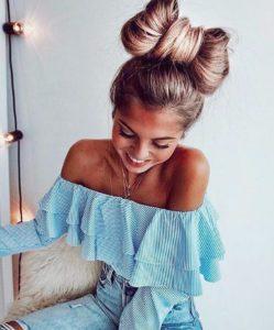 hair bow hairstyle