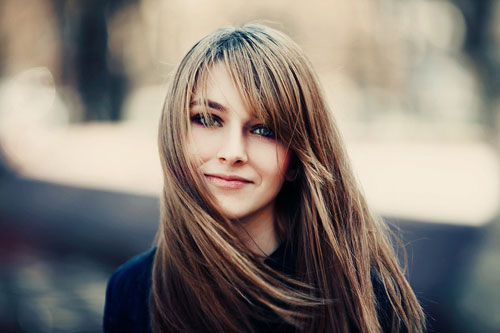 haircuts for long hair Long heavy layers
