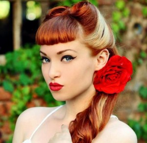 hairstyle-for-women-vintage-victory-rolls