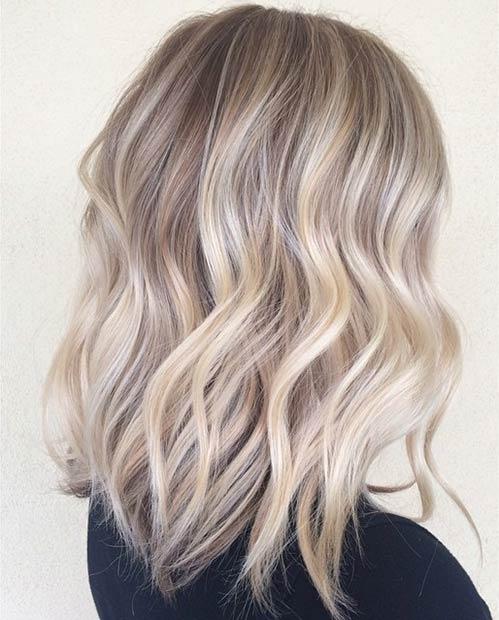 latest balayage hair color ideas Ash brown balayage