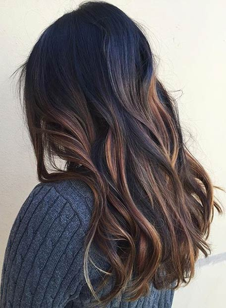 latest balayage hair color ideas Beach blonde balayage