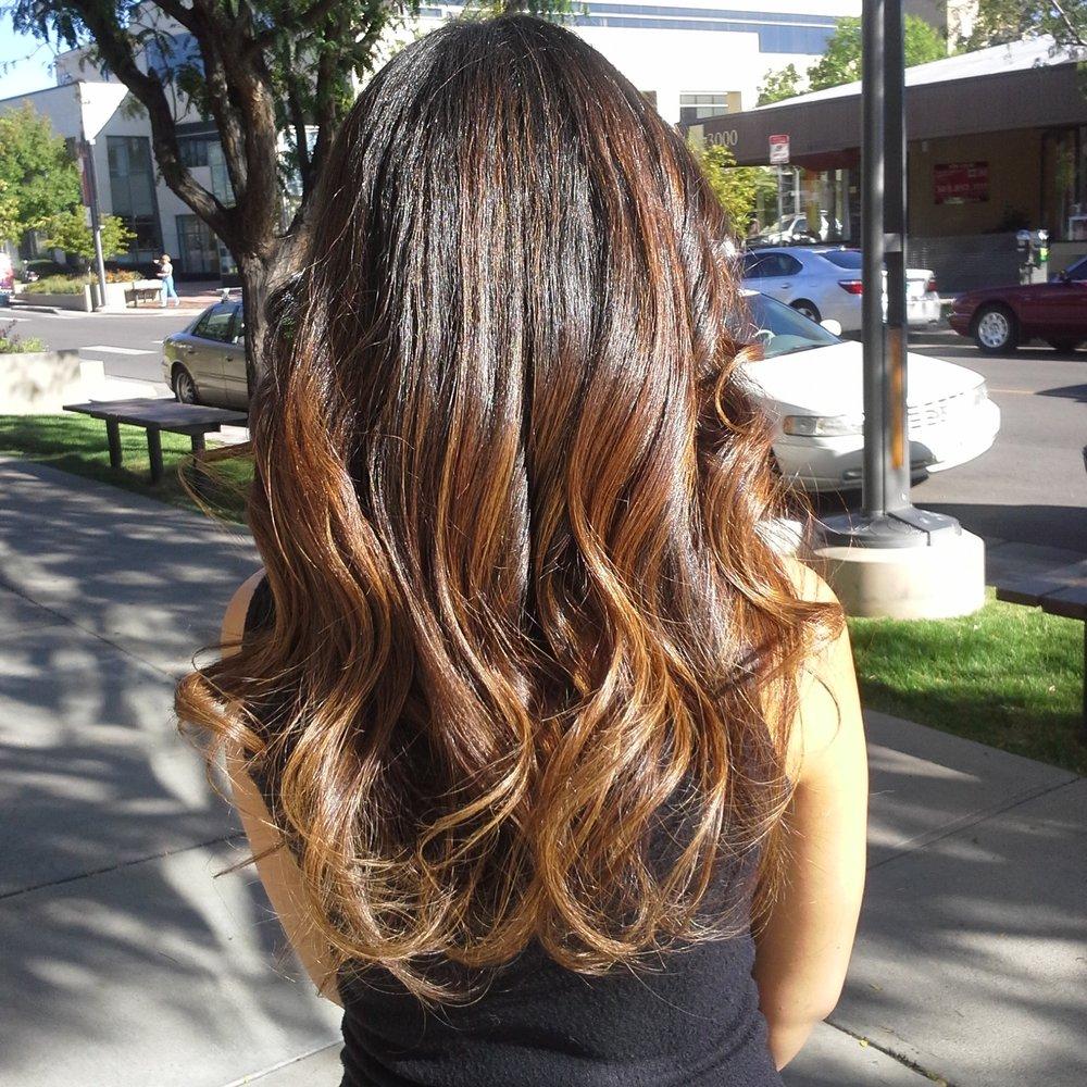 latest balayage hair color ideas Brunette balayage