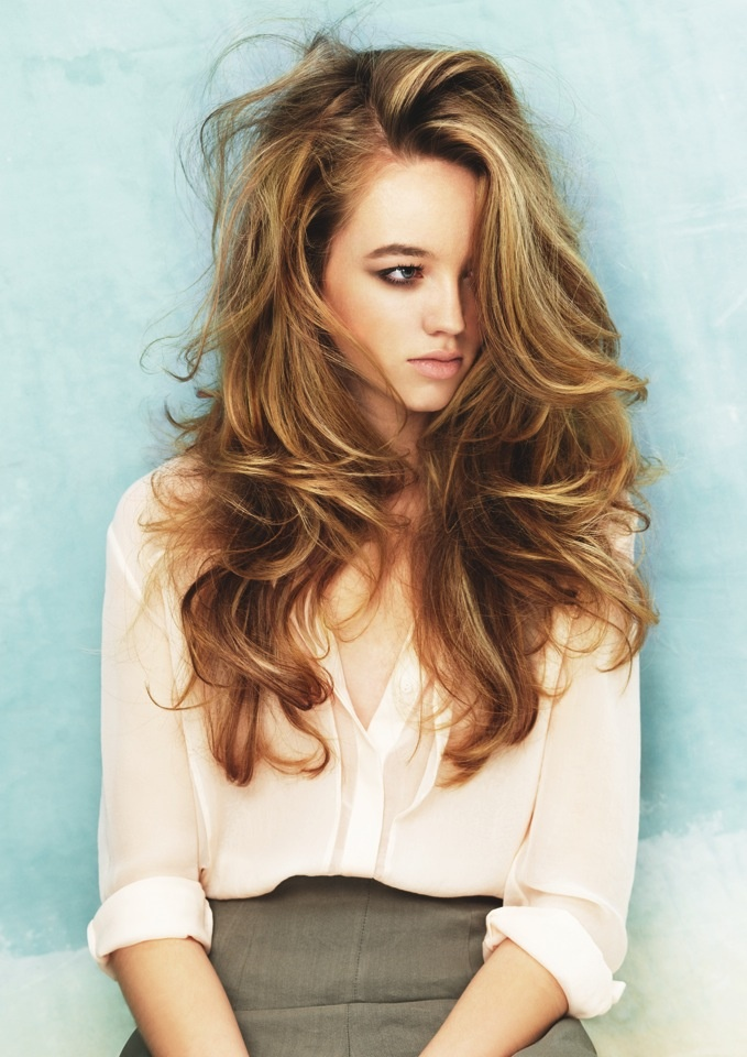 latest balayage hair color ideas Brunette light balayage