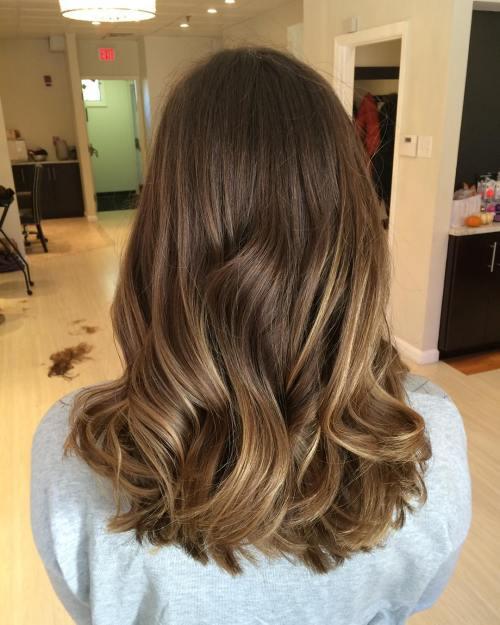 latest balayage hair color ideas Cinnamon balayage