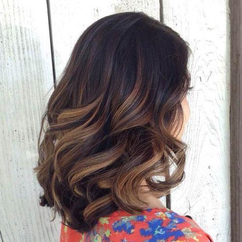 latest balayage hair color ideas Delicate balayage