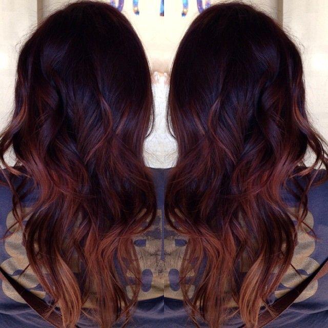 latest balayage hair color ideas Nutri-colour balayage