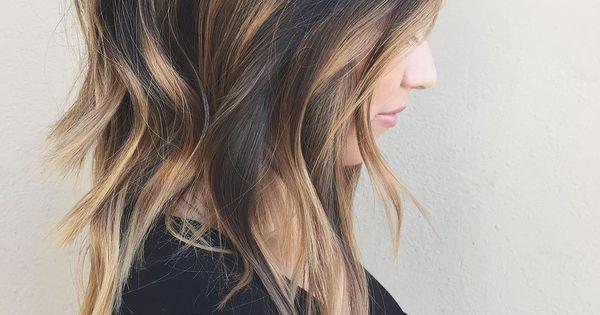 latest balayage hair color ideas Radial balayage