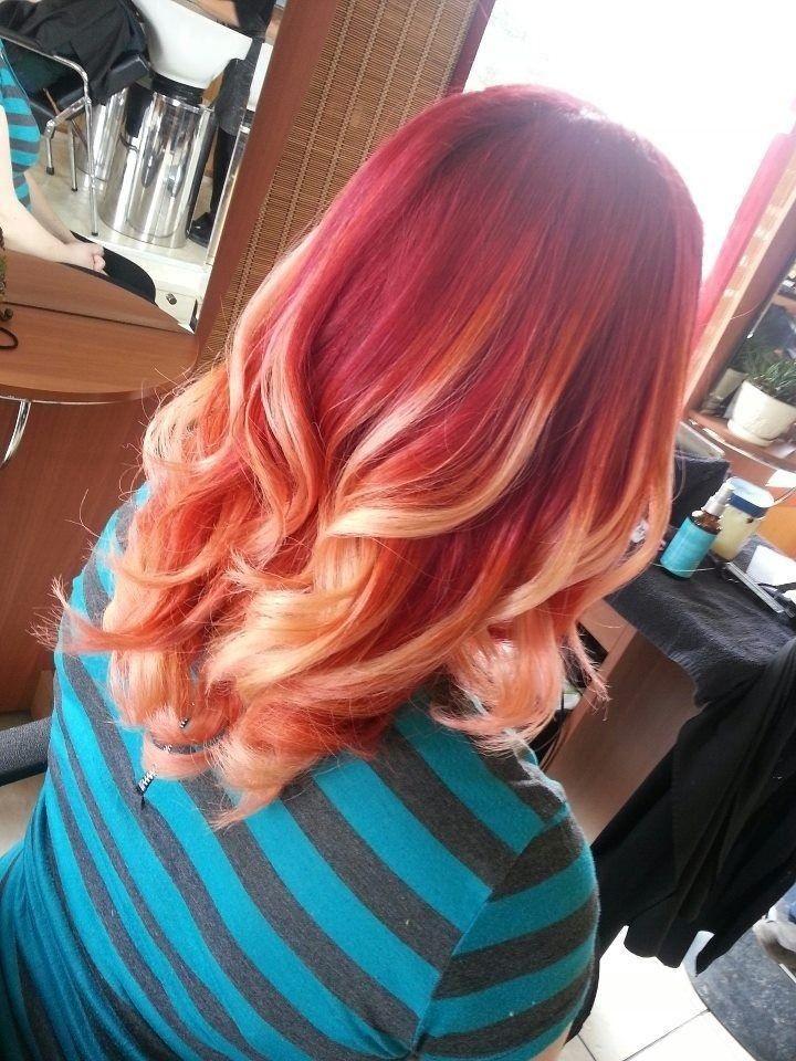 latest balayage hair color ideas Red balayage