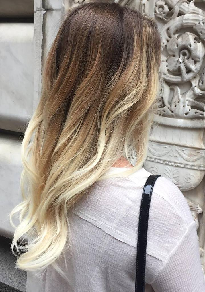 latest balayage hair color ideas Sun-kissed brunette balayage
