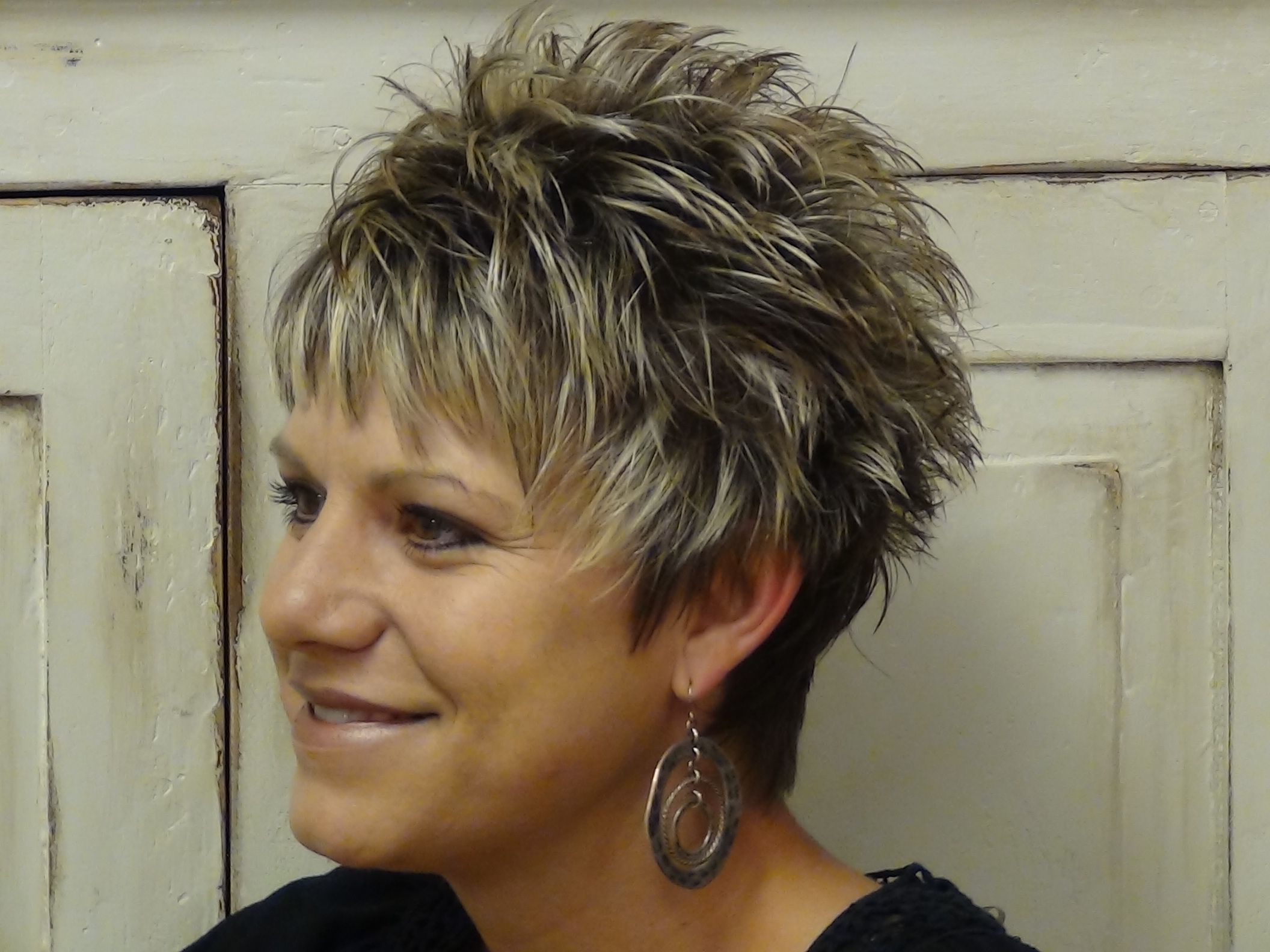 new haircuts for hair stylist Spike hawk