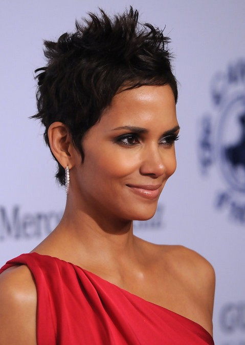 short hairstyle for african american women Extra short textured pixie cut