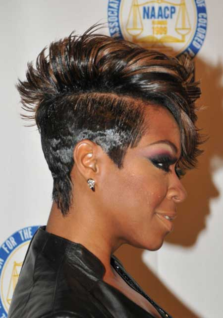 short hairstyle for african american women Short and sassy look