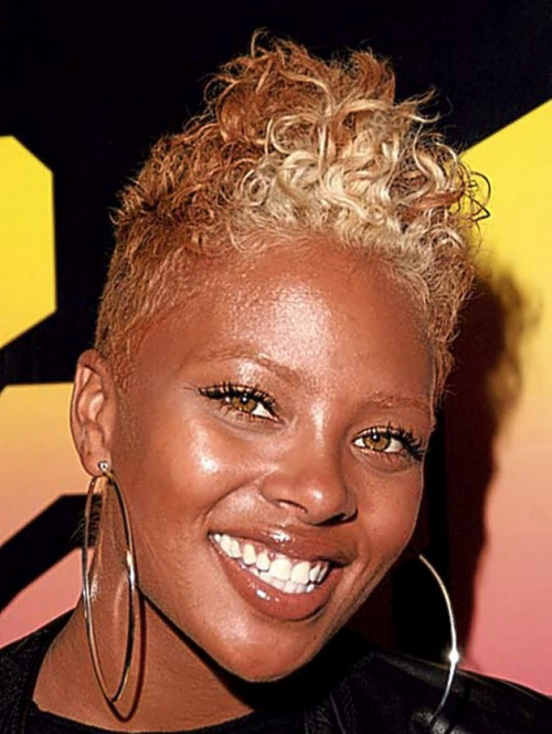 short hairstyle for african american women Short curls