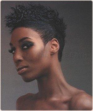 short-hairstyles-for-black-women-crew-cut