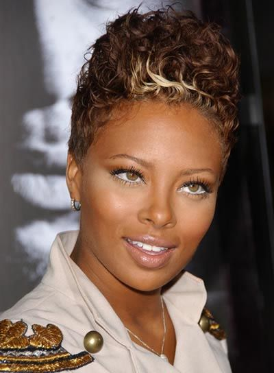 short-hairstyles-for-black-women-fawx-hawk-cut