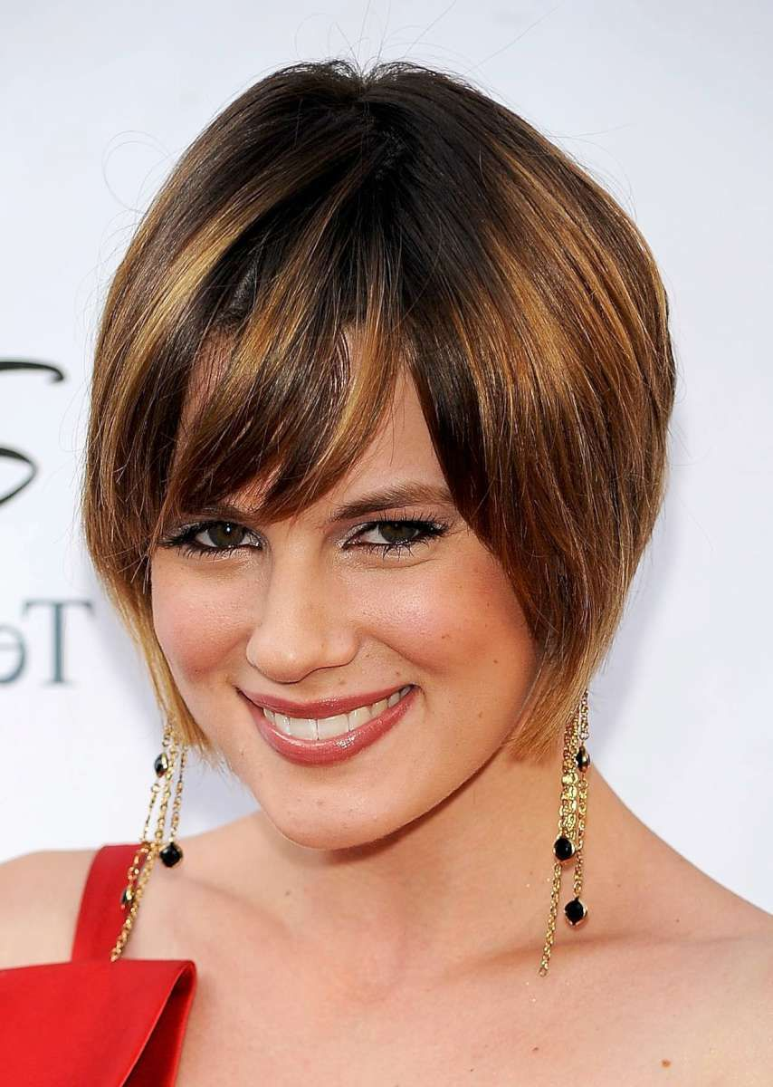 short layered hairstyles Funky shag hairstyle