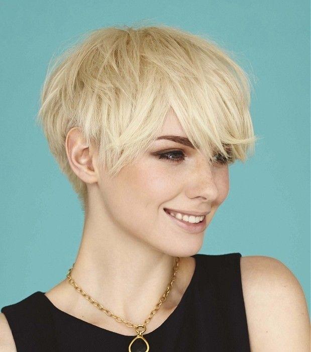 short layered hairstyles Pixie shag