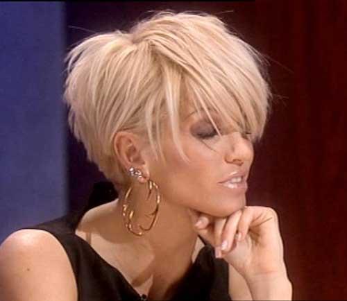 short layered hairstyles Thick shag
