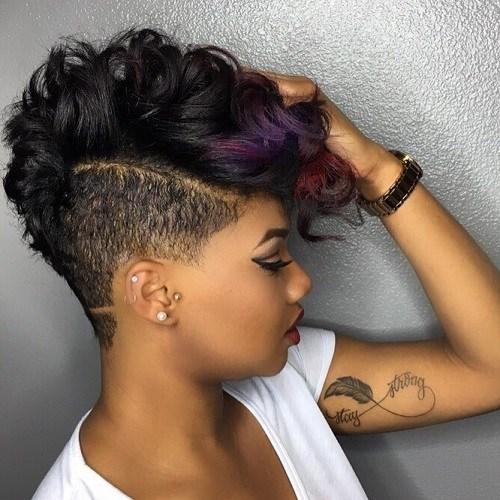 funky curls