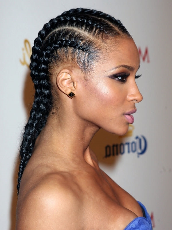 tight braids.