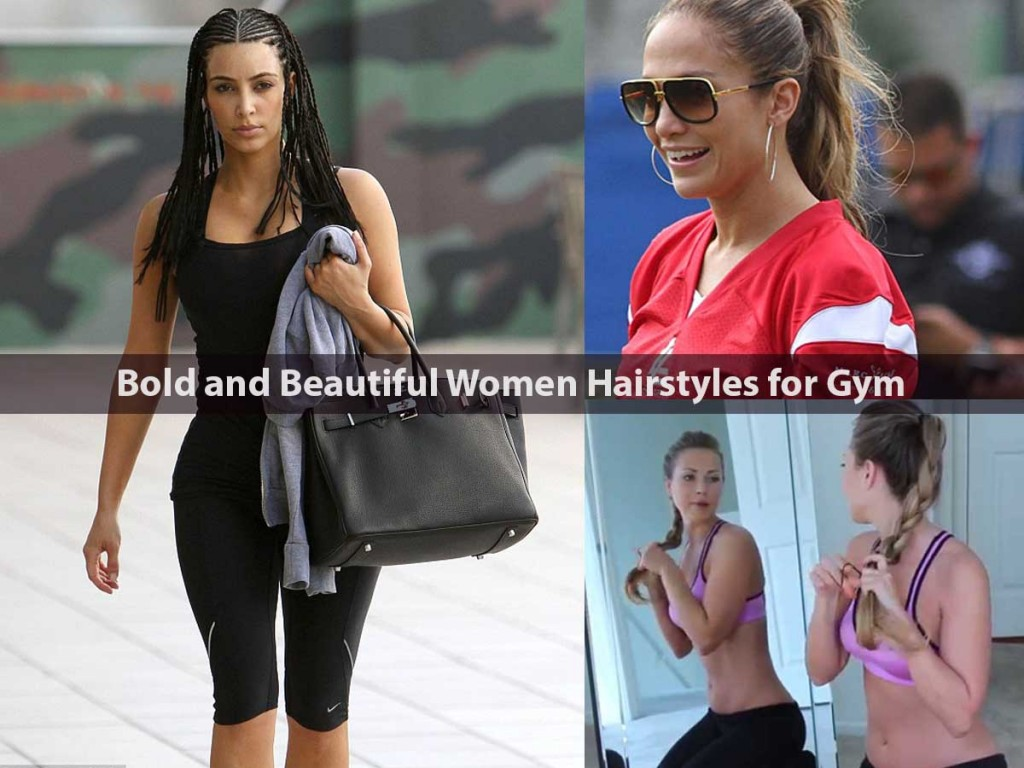 Bold and Beautiful Women Hairstyles for Gym