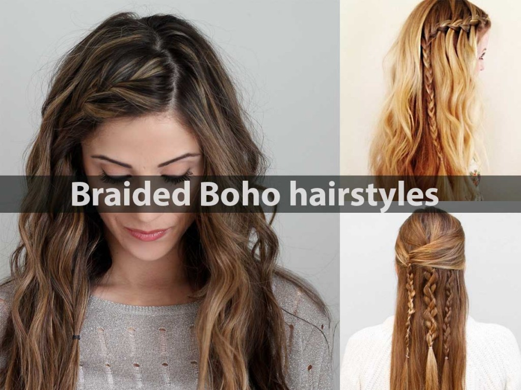 Braided Boho hairstyles