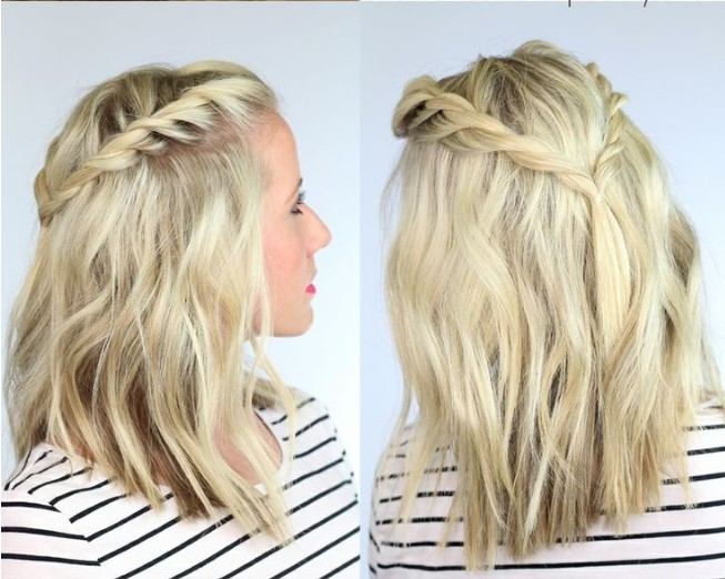 Braids for Medium Hair Boho braid