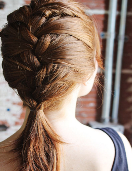 Braids for Medium Hair French braid